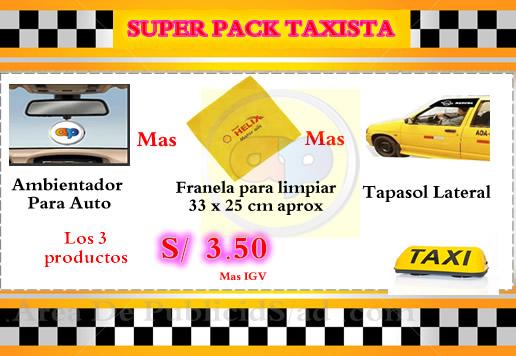 tapasol lateral para taxista