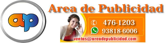 Area de Publicidad - Articulos Publicitarios